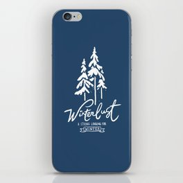 winterlust iPhone Skin