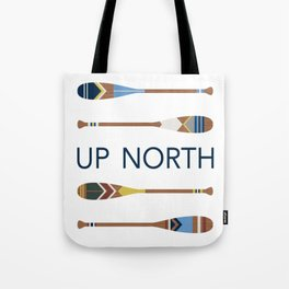 Up North Oars Tote Bag