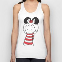 minnie Tank Tops featuring Minnie 4 by Little Moon Dance
