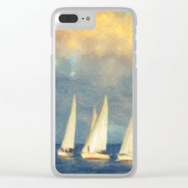 On A Day Like Today Clear iPhone Case