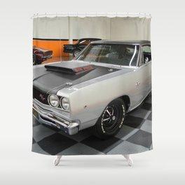 1968 Hemi Coronet Six Pack Shower Curtain