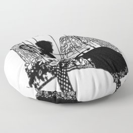 Mother's Day Silhouette Floor Pillow