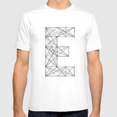 Ersilia White SMALL Mens Fitted Tee