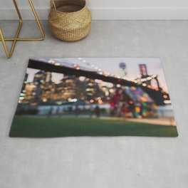 New York City and a Summer Sunset Rug