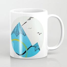 Over the hills of change Coffee Mug