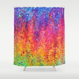 Fluoro Rain Shower Curtain