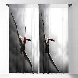 aircraft strom fly Blackout Curtain