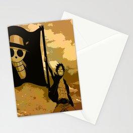 mugiwara boshi luffy Stationery Cards