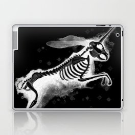Unicorn Bunny - inverted Laptop & iPad Skin