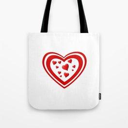 Hart full of love Tote Bag