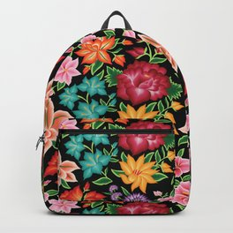 Floral Pattern from Oaxaca Backpack