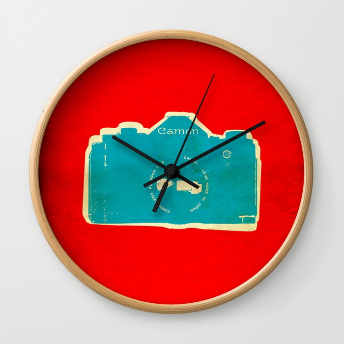 Cam-on Photo Wall Clock