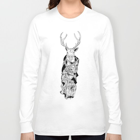 Animal totem Long Sleeve T-shirt