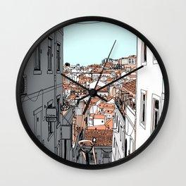Lisbon City Wall Clock