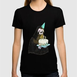 sloth birthday T-shirt