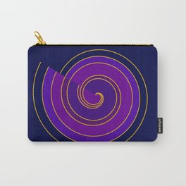 Rolling spiral Carry-All Pouch