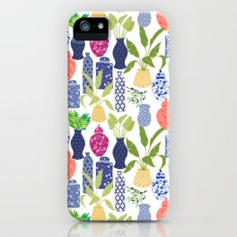Chinoiserie Vases iPhone Case