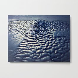Angle on the sand Metal Print