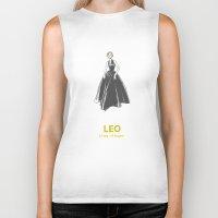 leo Biker Tanks featuring Leo by Cansu Girgin