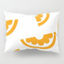 orange Pillow Sham
