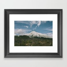 Volcán Lanín Framed Art Print