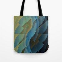 wings Tote Bags featuring Wings by Fringeman