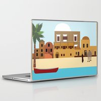 arab Laptop & iPad Skins featuring Arab city by Design4u Studio