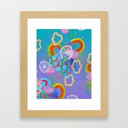 Alien Organisms 16 Framed Art Print