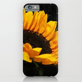 Starlight Sunflower iPhone Case