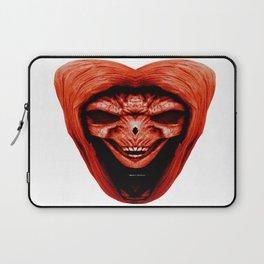 Red Haired Skull Laptop Sleeve