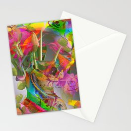 The Smell of Our Digital Flower Park Stationery Cards
