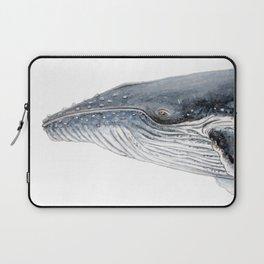 Humpback whale portrait Laptop Sleeve
