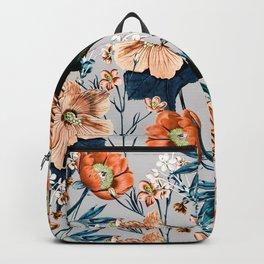 Flowering autumnal botanic Backpack