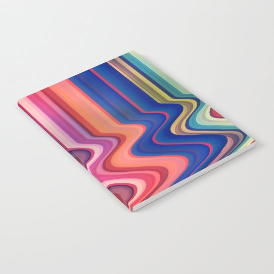 Destroyed Lines Notebook