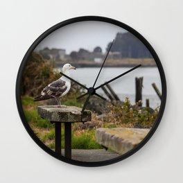 Watchin' The Tide Roll Away Wall Clock