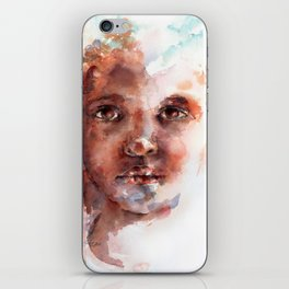 Face of Africa iPhone Skin