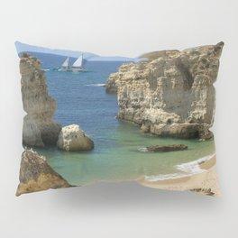 A cove near Albufeira, Portugal Pillow Sham
