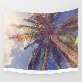 Palm Tree Dreams Wall Tapestry