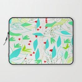 Estampado de hojas/ leave pattern Laptop Sleeve