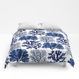 Sea life collection pattern Comforters