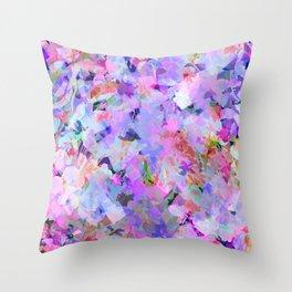 Fresh Flower Parfait Throw Pillow