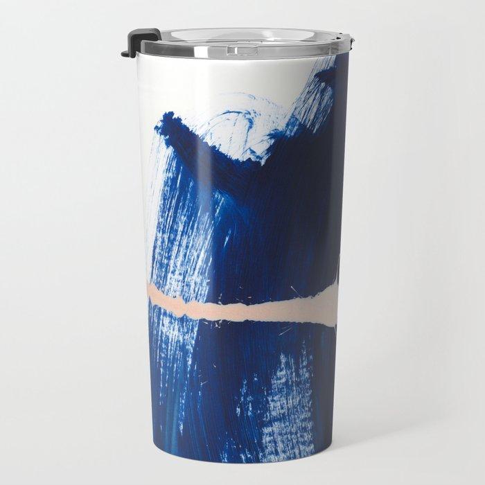 brush strokes 4 Travel Mug