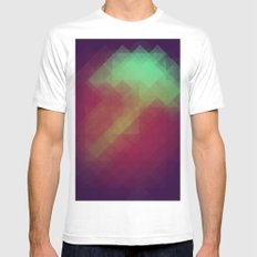 Jelly Pixel MEDIUM Mens Fitted Tee White