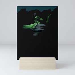 Japanese night Mini Art Print