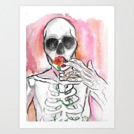 Death Bloom Art Print