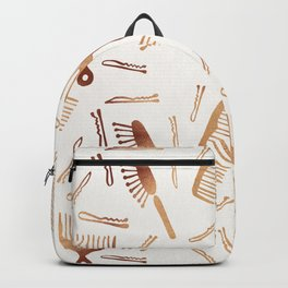 Good Hair Day – Rose Gold Palette Backpack