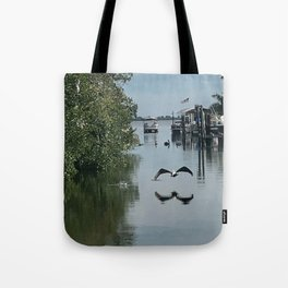 """Matchla, Florida Pier"" Photography by Willowcatdesigns Tote Bag"