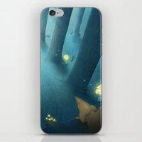 jenny liz rome iPhone & iPod Skins featuring Liz by Ramona Treffers