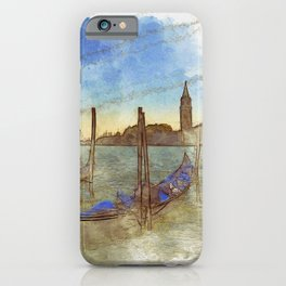 Venezia Gondola - SKETCH iPhone Case