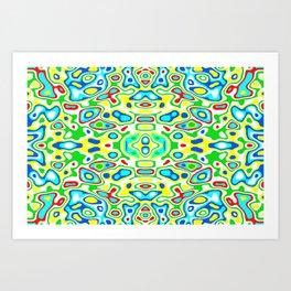 Symmetric composition 12 Art Print